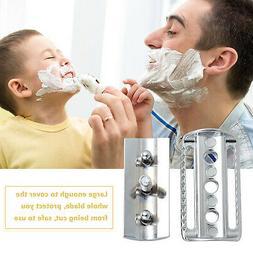 Safety Razor Head for Shaving Open Comb Head Double-edged Ra