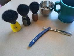 Edwin Jagger Safety Razor,Shaving Mug,Shave Brush