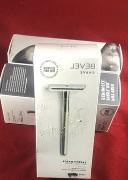 Bevel Safety Razor Single Blade Shave New