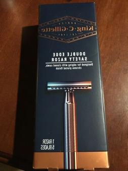 Safety Razor Stainless Steel & King C Gillette Razor New In