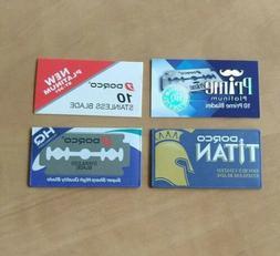 The Dorco Sampler 8 Blades Dorco Prime Titan Platinum DE Saf