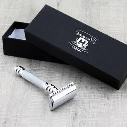 Traditional Clean Shave Safety Razor Best Stainless Steel Tr