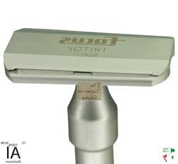 Focus Tritok R53-7 3pc Slant Head Aluminum DE Safety Razor M