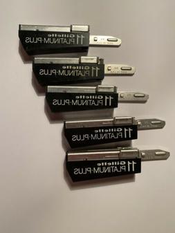 Vintage Gillette 11 Platinum Plus Injectors Razor Blades