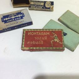 Vintage Ever-Ready, Marathon, PAL, and other Safety Razor Bl