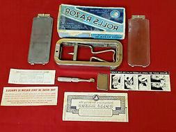 Vintage Rolls Razor Imperial No.2 - Razor Kit  Made in Engla