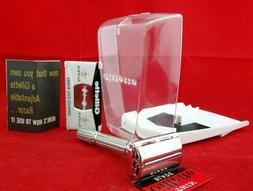 vtg 1968 slim adjustable razor complete kit